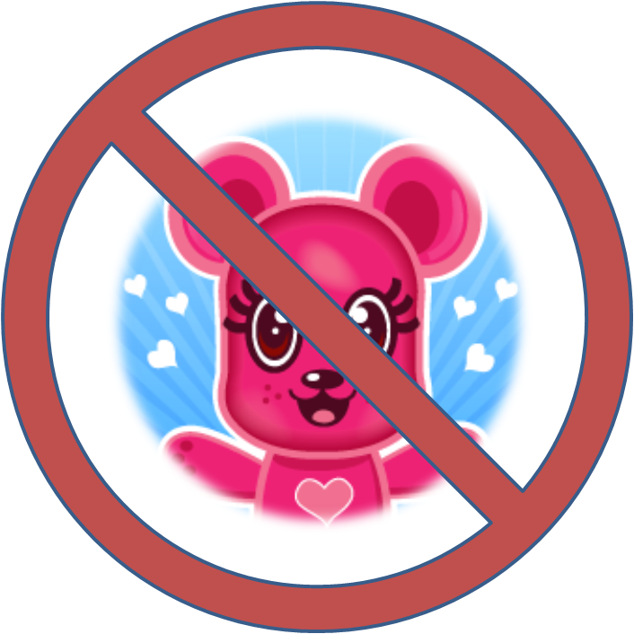 Applique Teddy Bears = No