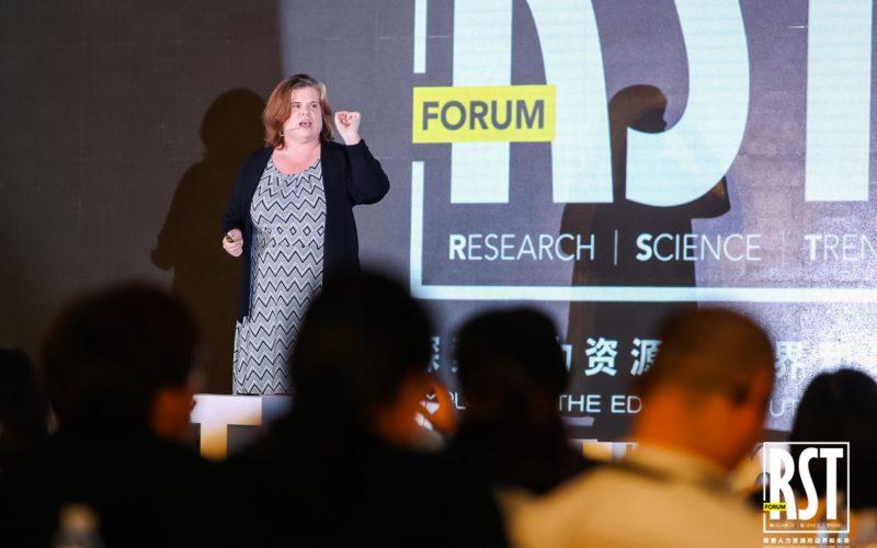 Julie Deliverying a Behavior Change Keynote
